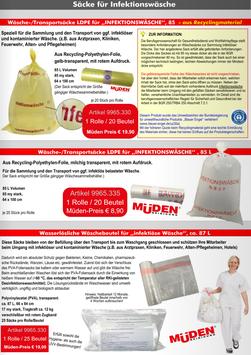 Infektions - Wäschesäcke
