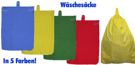 Wäschesack in 5 möglichen Farben