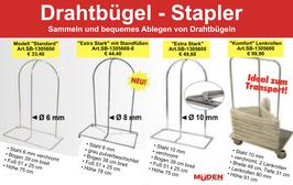 Drahtbügel-Stapler