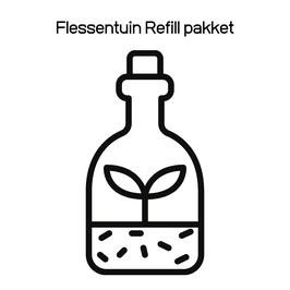 Flessentuin Refill pakket