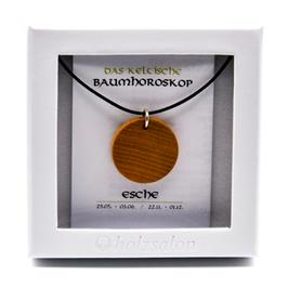 Keltisches Baumhoroskop -  Kettenanhänger Esche