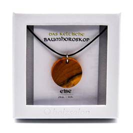 Keltisches Baumhoroskop - Kettenanhänger Eibe