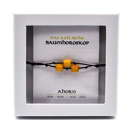 Keltisches Baumhoroskop - Armband Ahorn
