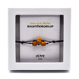 Keltisches Baumhoroskop - Armband Olivenbaum