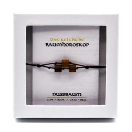 Keltisches Baumhoroskop - Armband Nussbaum