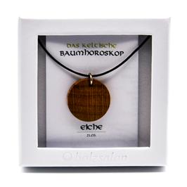 Keltisches Baumhoroskop - Kettenanhänger Eiche
