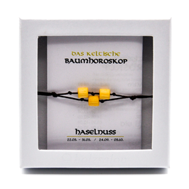 Keltisches Baumhoroskop - Armband Haselnuss