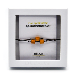 Keltisches Baumhoroskop - Armband Birke