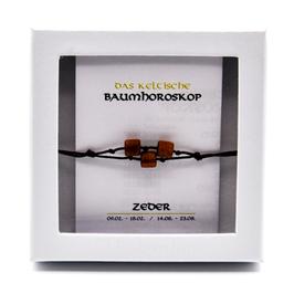 Keltisches Baumhoroskop - Armband Zeder