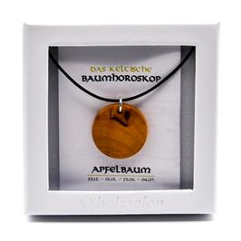 Keltisches Baumhoroskop - Kettenanhänger Apfelbaum