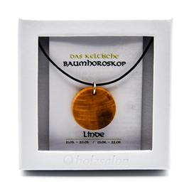 Keltisches Baumhoroskop - Kettenanhänger Linde