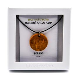 Keltisches Baumhoroskop - Kettenanhänger Birke