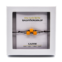 Keltisches Baumhoroskop - Armband Tanne