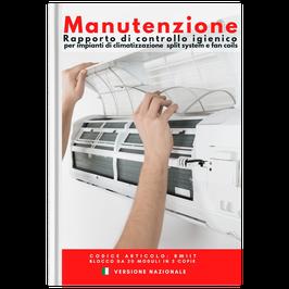 Rapporto di manutenzione igienica impianti clima