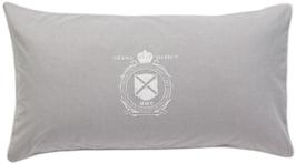 Oxford Logo Grå örngott 50x90