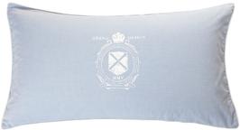 Oxford Logo Blå örngott 50x90