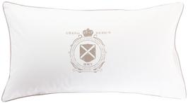 Oxford Logo Vit örngott 50x90