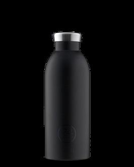 24Bottles Thermosflasche 0,5l Edelstahl Schwarz