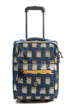 Pick&Pack Kinderkoffer Owl Denim Blue