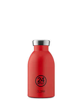 24Bottles Thermosflasche 0,33l Edelstahl Rot