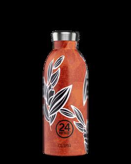 24Bottles Thermosflasche 0,5l Edelstahl orange Flora