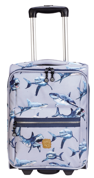 Pick&Pack Kinderkoffer Shark Light Blue