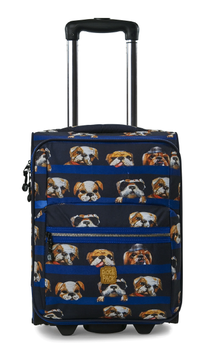 Pick&Pack Kinderkoffer dogs navy