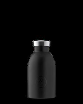 24Bottles Thermosflasche 0,33 EdelStahl Schwarz