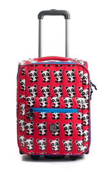 Pick&Pack Kinderkoffer Panda Red