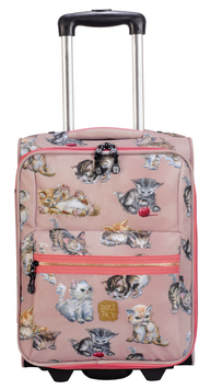 Pick&Pack Kinderkoffer Kittens Dusty Pink