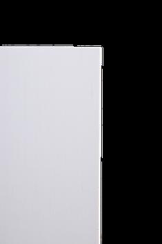 BP Mycarta weiß, 2 X 510 X 1075 mm