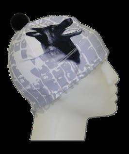 Mütze Weiß mit Motiv