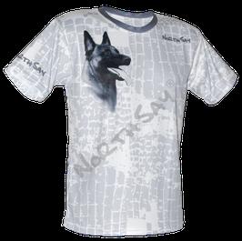 T-Shirt Icecube & Hund Gr. L