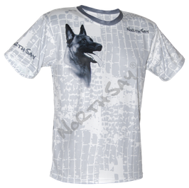 T-Shirt Icecube & Hund Gr. M