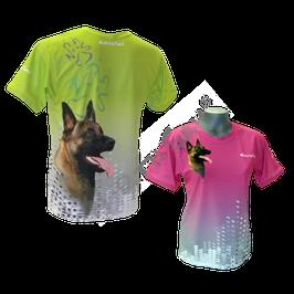 T-Shirt Pearl Green Apple mit Hundemotiv Gr. XS