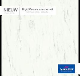 AMCL40136 Rigid Carrara Marmerwit