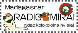 「ラジオミライ」ステッカーW支援