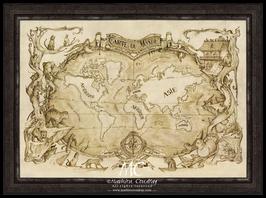 Map Monde chats