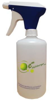 Sprühflasche aus BIO Kunststoff 0,5L