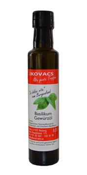 Basilikum Gewürzöl, 250ml, Öle Kovacs