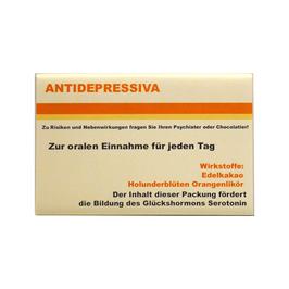 """""""Antidepressiva"""" Edelschokolade, 80g"""
