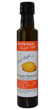 Zitronen Gewürzöl, 250ml, Öle Kovacs