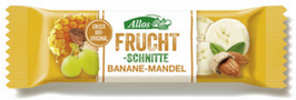 Allos Banane-Mandel Fruchtschnitte