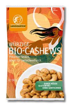 Würzige Cashews