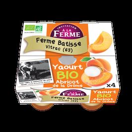 Yaourt à l'abricot de la Drôme