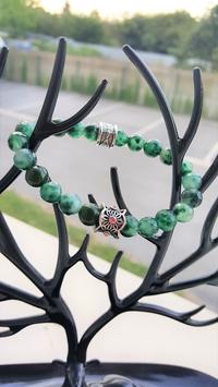 bracelet pierre emeraude