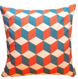 Kissen Cube - tangerine