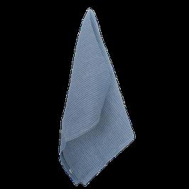 Waffelpiqué - blau