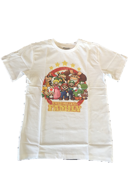 Nintendo Kinder T-Shirt The Original Family Mario