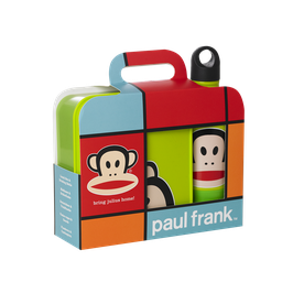 "Paul Frank ""Drinking Bottle & Lunch Box Set"""